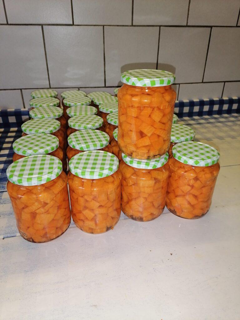 Kürbis-Kompott von Landwirtin Anne
